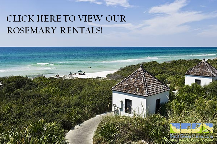 Rosemary Beach Bike Rentals: The Best Prices, Service, and Selection