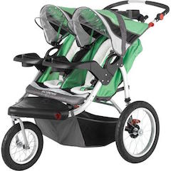 DOUBLE JOGGER WITH SWIVEL OR FIXED WHEEL RENTAL for 30A, Destin and panama city beach, Florida