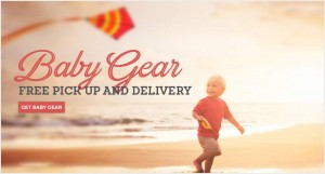 Baby Gear Rentals on 30A with Free Delivery and Pick up