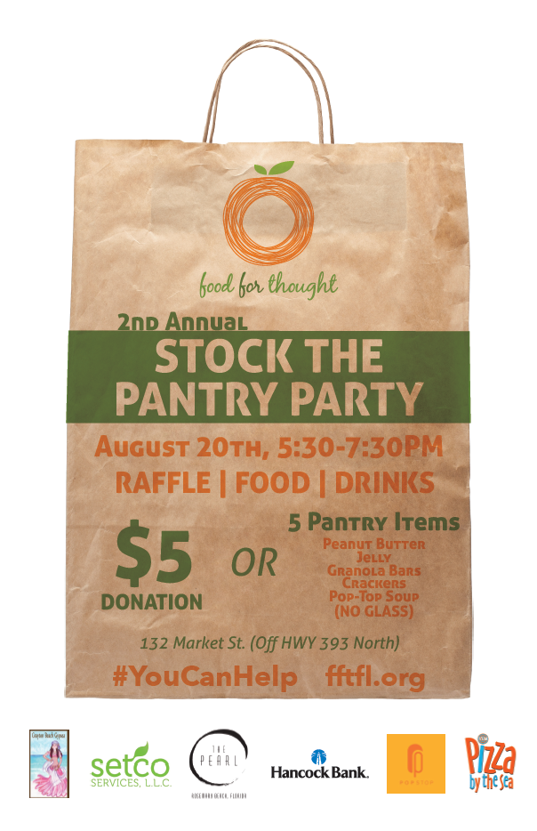 Food for Thought FL Stock the Pantry 2015